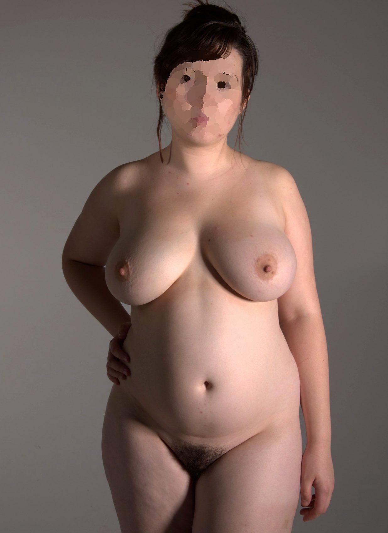Les gros seins d'une grosse coquine