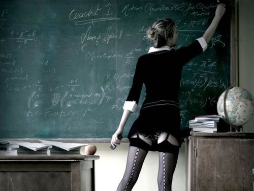 Une prof de sexe cougar
